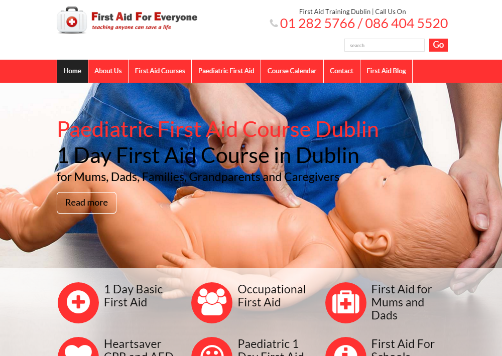 First Aid Courses Dublin