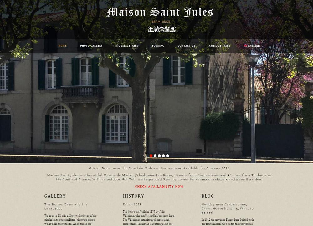 Chambre d'Hote Bram Gite Maison Saint Jules