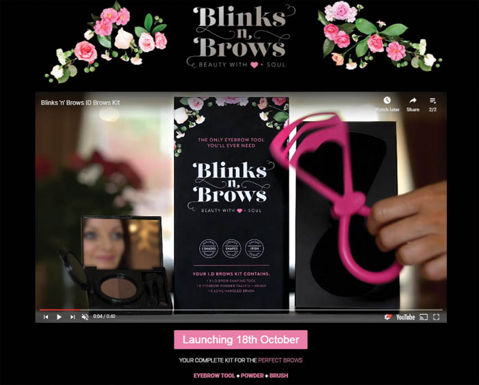 Blinks n Brows ID Brows Kit Ireland