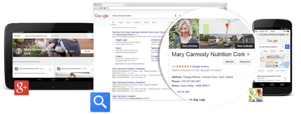 Google My Business Cork : Global Vision