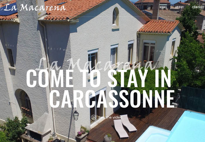La Macarena Chambres dhotes carcassonne new