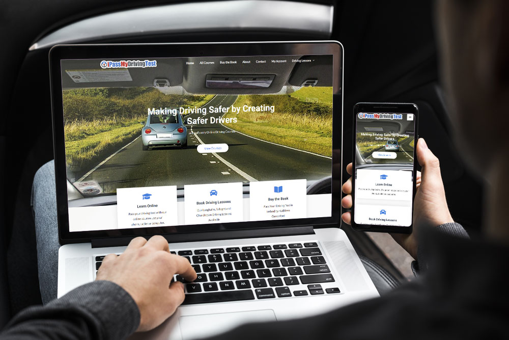 i pass my driving test ireland learn online devices